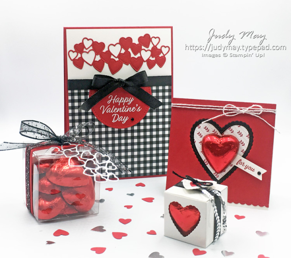 Stampin' Up! Meant to Be Valentine's Day projects - Judy May, Just Judy Designs, Melbourne