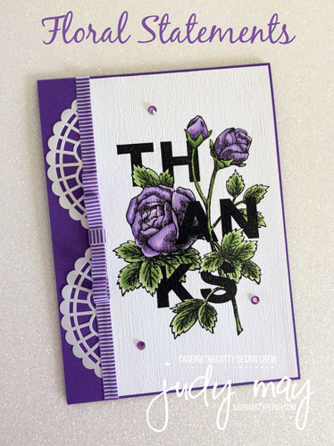 Stampin' Up! Floral Statements - Judy May, Just Judy Designs