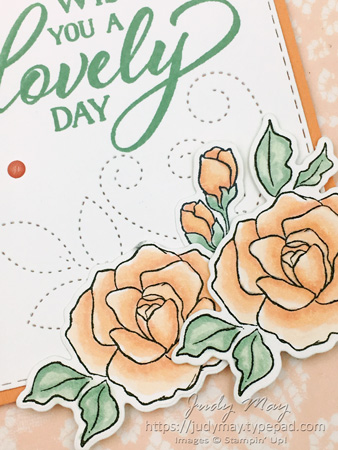 Stampin' Up! Tea Together, Floral Romance Specialty DSP - Judy May, Just Judy Designs