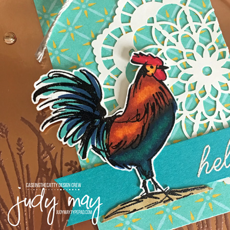 Stampin' Up! Home to Roost (Sale-a-bration) - Judy May, Just Judy Designs, Melbourne