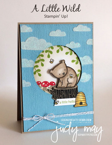 Stampin' Up! A Little Wild - Judy May, Just Judy Designs