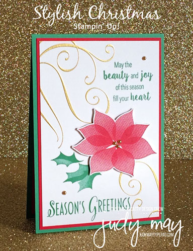 Stampin' Up! Stylish Christmas - Judy May, Just Judy Designs