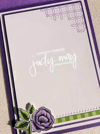 Stampin' Up! Graceful Garden - Judy May, Just Judy Designs