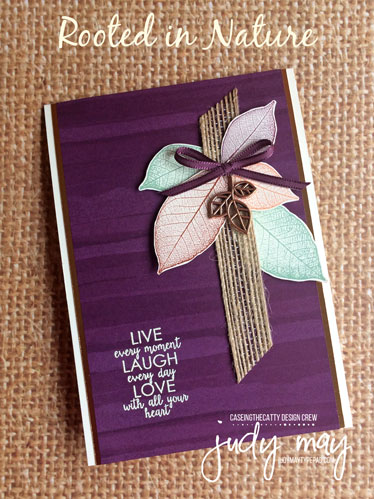 Stampin' Up! Nature's Poem Suite - Judy May, Just Judy Designs