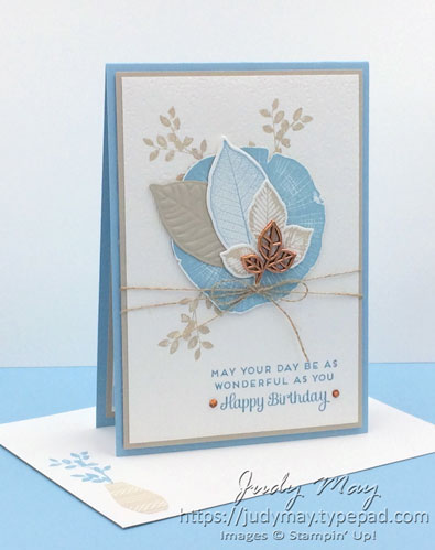 Stampin' Up! Rooted in Nature - Judy May, Just Judy Designs, Melbourne