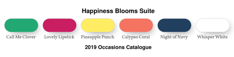 Happiness Blooms Colour Combo