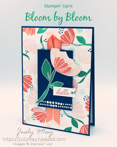 Stampin' Up! Bloom by Bloom - Judy May, Just Judy Designs, Melbourne