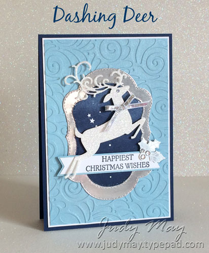 Stampin' Up! Dashing Deer Bundle - Judy May, Just Judy Designs