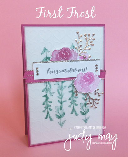 Stampin' Up! First Frost - Judy May, Just Judy Designs