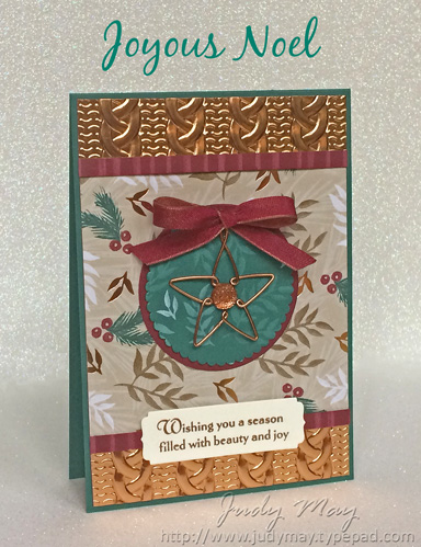 Stampin' Up! Joyous Noel Suite - Judy May, Just Judy Designs