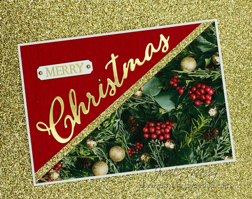 Stampin' Up! Merry Christmas to All & All is Bright DSP - Judy May, Just Judy Designs, Melbourne