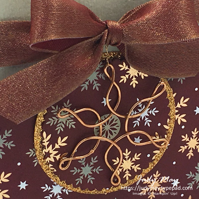 Stampin' Up! Joyous Noel Gift Box