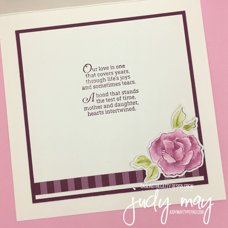 Stampin' Up! Tea Together - Judy May, Just Judy Designs, Melbourne