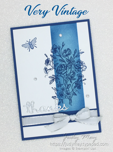 Stampin' Up! Very Vintage Host Set - Judy May, Just Judy Designs
