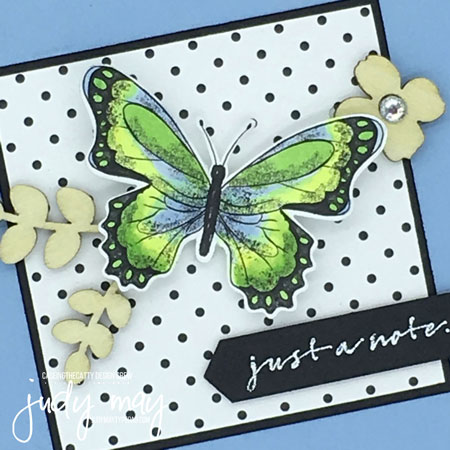 Stampin' Up! Botanical Butterfly DSP, Butterfly Elements - Judy May, Just Judy Designs, Melbourne