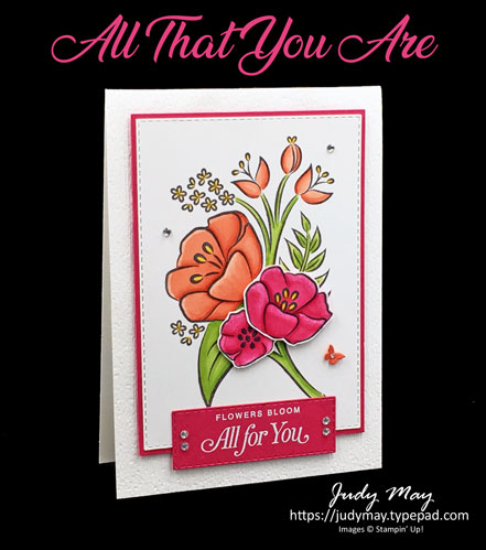 Stampin' Up! All That You Are - Judy May, Just Judy Designs, Melbourne