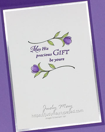 Stampin' Up! His Grace - Judy May, Just Judy Designs, Melbourne