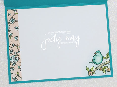 Stampin' Up! Bird Ballad DSP & Free as a Bird stamp set - Judy May, Just Judy Designs, Melbourne