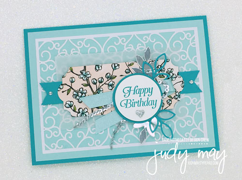 Stampin' Up! Beautifully Detailed Laser-Cut DSP - Judy May, Just Judy Designs, Melbourne