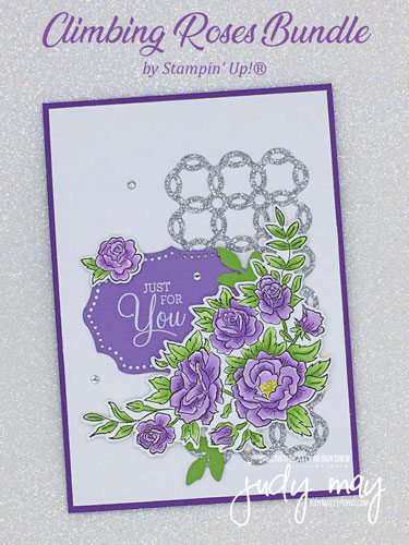 Stampin' Up! Climbing Roses Bundle - Judy May, Just Judy Designs, Melbourne