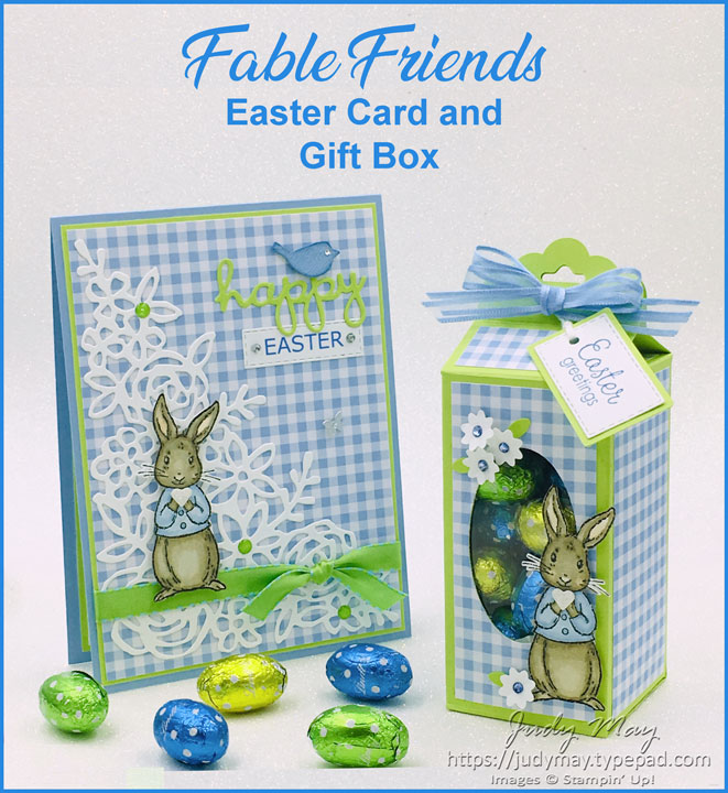 Stampin' Up! Fable Friends Easter Projects - Judy May, Just Judy Designs, Melbourne