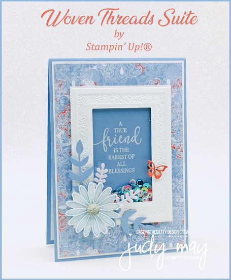 Stampin' Up! Woven Threads Suite - Judy May, Just Judy Design