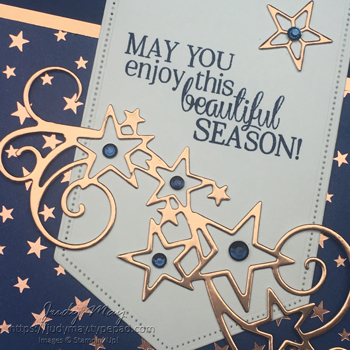 Stampin' Up! So Many Stars Bundle & Brightly Gleaming Specialty DSP - Judy May, Just Judy Designs, Melbourne