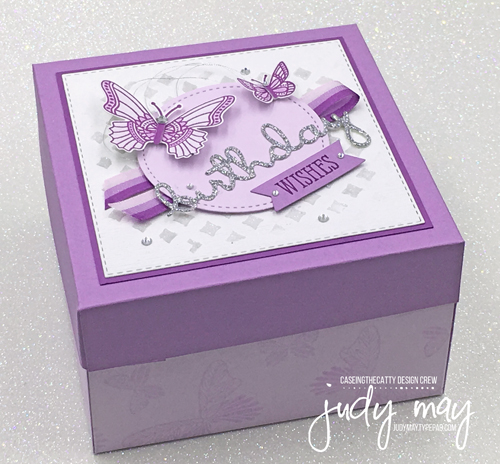 Stampin' Up! Butterfly Gala Birthday Gift Box - Judy May, Just Judy Designs, Melbourne