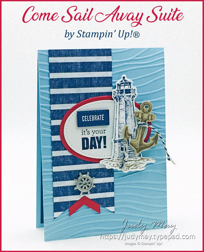 Stampin' Up! Come Sail Away Suite - Judy May, Just Judy Designs, Melbourne