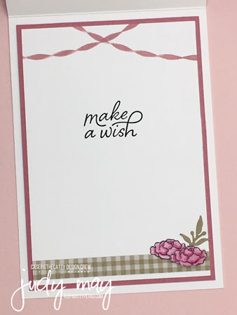 Stampin' Up! Birthday Goodness - Judy May, Just Judy Designs, Melbourne