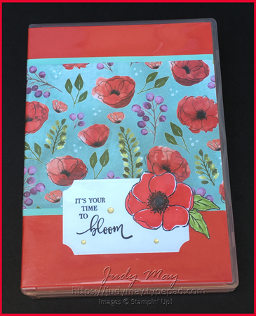 Stampin' Up! Peaceful Poppies Bundle, Stamp Case Organiser - Judy May, Just Judy Designs, Melbourne