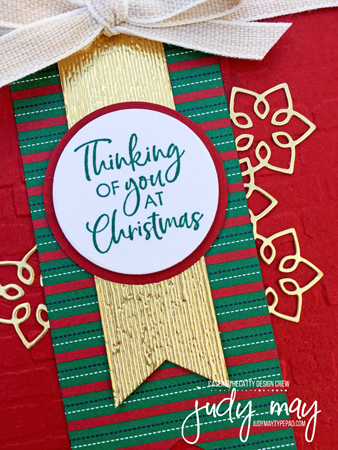 Stampin' Up! Itty Bitty Christmas Bundle & Wrapped In Plaid DSP - Judy May, Just Judy Designs, Melbourne