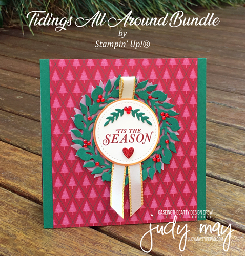 Stampin' Up! Tidings All Around Bundle - Judy May, Just Judy Designs, Melbourne