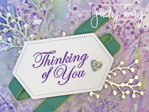 Stampin' Up! Feels Like Frost DSP - Judy May, Just Judy Designs