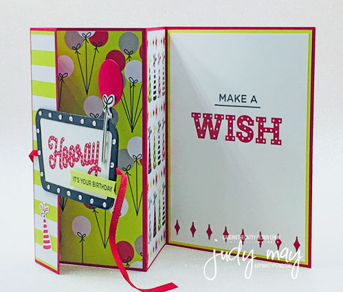 Stampin' Up! Broadway Birthday Bundle - Judy May, Just Judy Designs, Melbourne