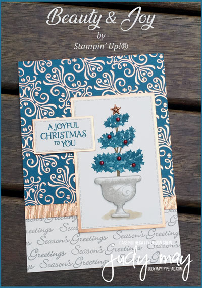 Stampin' Up! Beauty & Joy - Judy May, Just Judy Designs, Melbourne