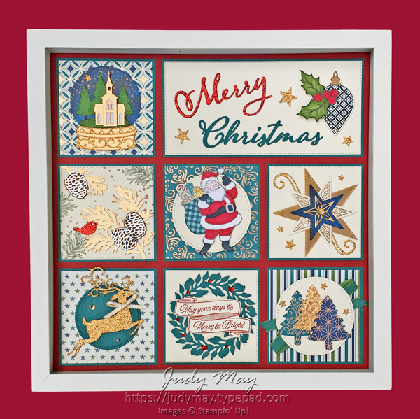 Stampin' Up! Holiday Catalogue 2019 Christmas Sampler - Judy May, Just Judy Designs, Melbourne
