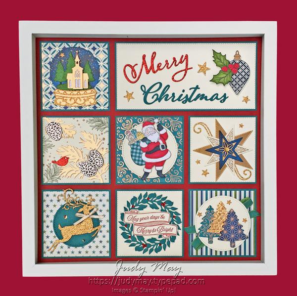 Stampin' Up! Holiday Catalogue 2019 Christmas Sampler - Judy May, Just Judy Designs, Melbourne