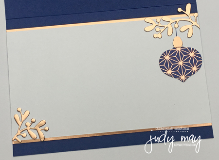 Stampin' Up! Brightly Gleaming DSP, Christmas Layers Dies & Itty Bitty Christmas - Judy May, Just Judy Designs, Melbourne
