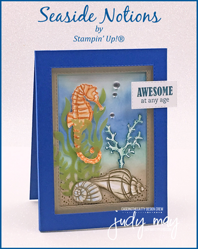 Stampin' Up! Seaside Notions - Judy May, Just Judy Designs, Melbourne