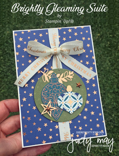 Stampin' Up! Brightly Gleaming Suite - Judy May, Just Judy Designs, Melbourne