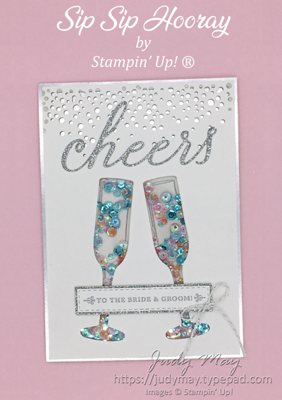 Stampin' Up! Sip Sip Hooray Bundle & Cheers To That Bundle - Judy May, Just Judy Designs, Melbourne