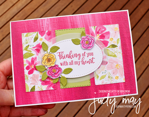 Stampin' Up! Best Dressed Suite & Lily Impressions DSP - Judy May, Just Judy Designs, Melbourne