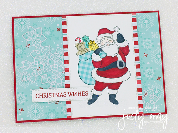 Stampin' Up! Holly Jolly Christmas & Let It Snow DSP - Judy May, Just Judy Designs, Melbourne