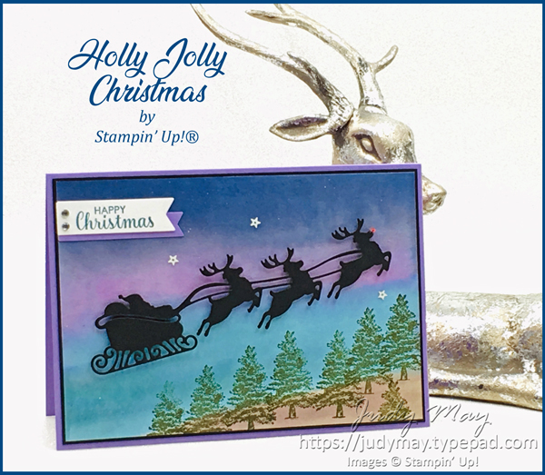 Stampin' Up! Jolly Seasons Dies - Judy May, Just Judy Designs, Melbourne