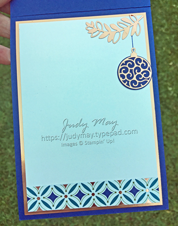 Stampin' Up! Brightly Gleaming Specialty DSP - Judy May, Just Judy Designs, Melbourne