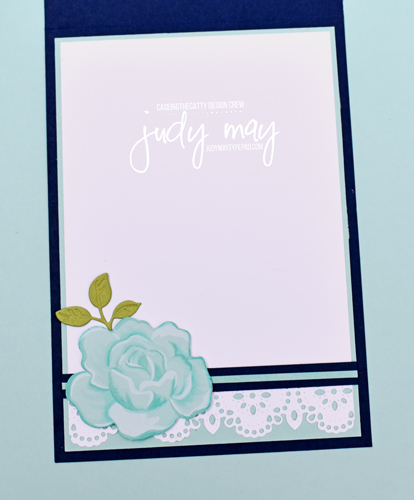 Stampin' Up! Kerchief Card Kit Alternate Design - Judy May, Just Judy Designs, Melbourne