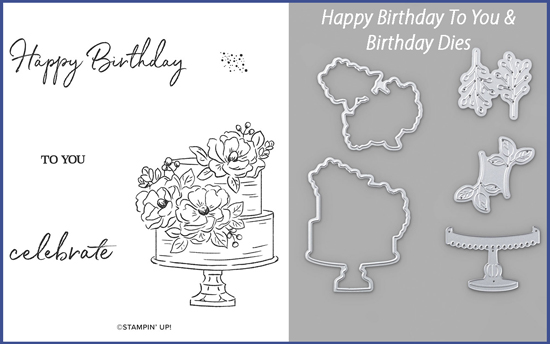 Happy Birthday To You Stamp Set & Birthday Dies