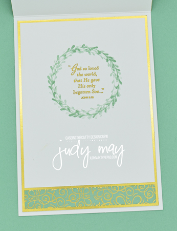 Stampin' Up! Ornate Garden Specialty DSP & Hold Onto Hope for Easter - Judy May, Just Judy Designs, Melbourne
