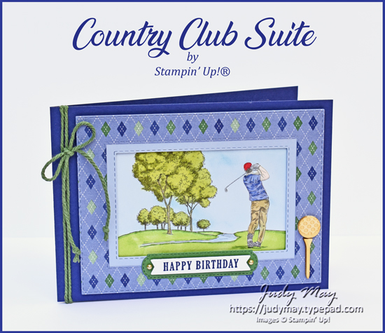 Stampin' Up! Country Club Suite - Judy May, Just Judy Designs, Melbourne